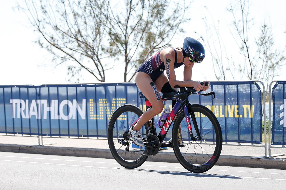 Allysa Seely Crowned 2018 ITU World Champion
